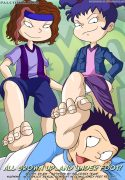 All Grown Up ...And Under Foot! (All Grown Up!) [Palcomix]