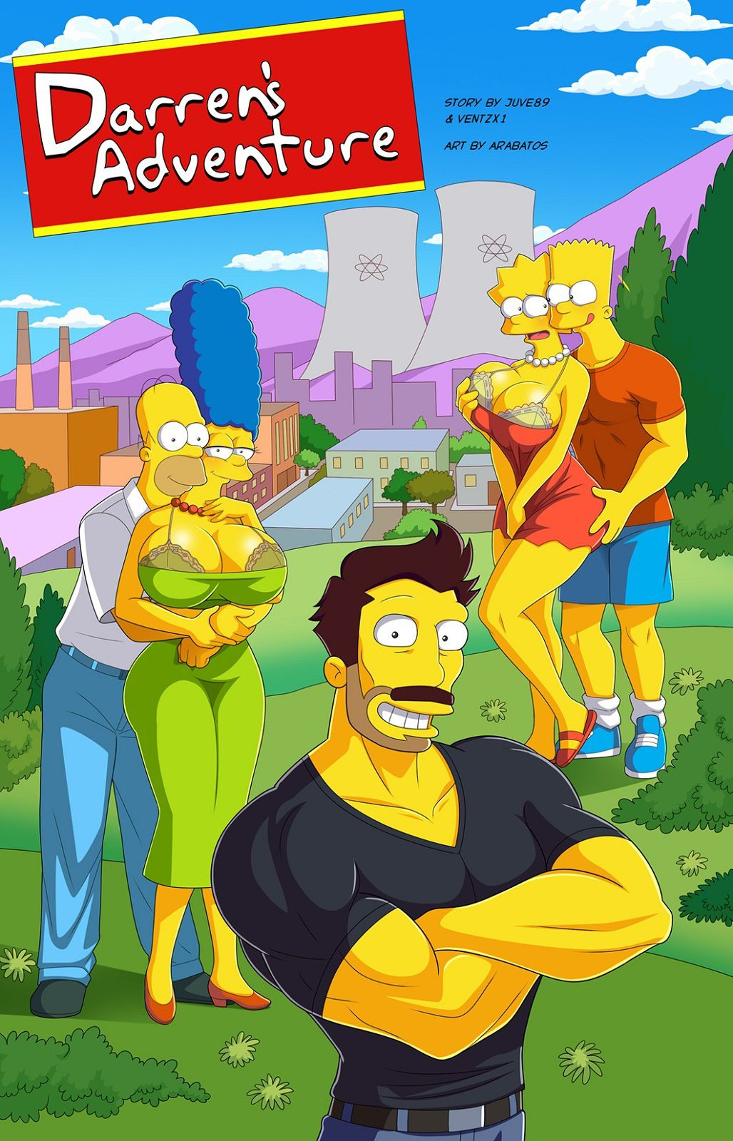4Los Simpson Porno darren's adventure (the simpsons) [arabatos] porn comic
